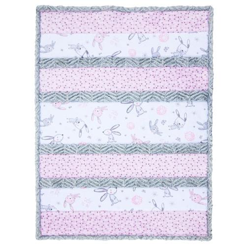 Shannon Fabrics Bunny Hunny Cuddle Quilt Kit