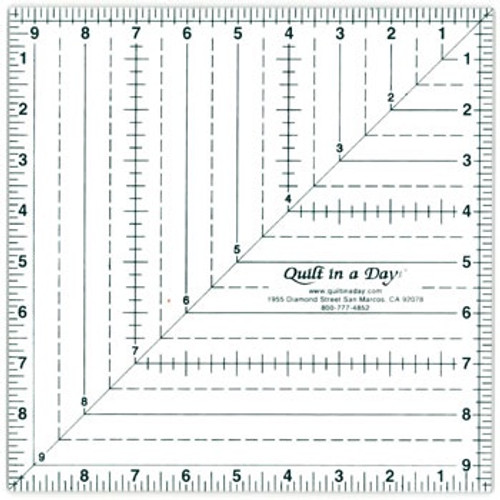 """9 1/2"""" Square Up Ruler"""