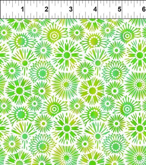 Unusual Garden 2-Blooms Green/White