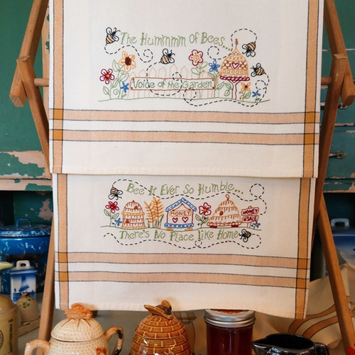 Pattern Hand Embroiery-The Hummmm of Bees-1309