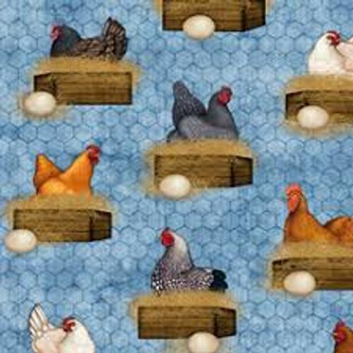 Sunrise Farms 27420-B Blue Chickens