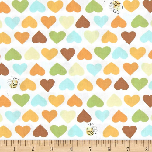 Hearts and Bees Susybee Print