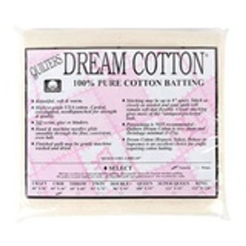 Quilter's Dream Select 100% Cotton Natural Crib Size