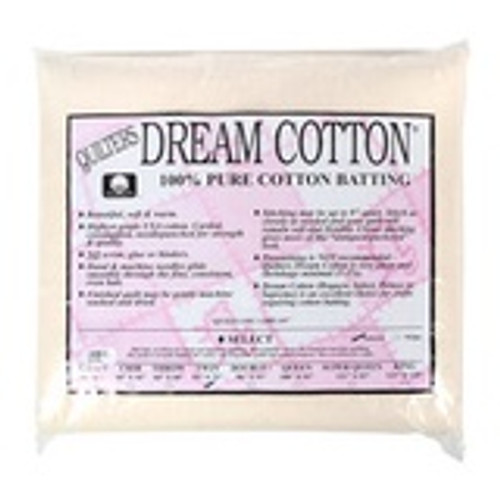 Quilter's Dream Select 100% Cotton Natural Double 96 x 93