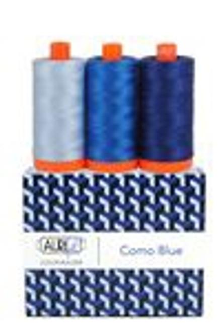 Aurifil Color Builders Como Blue