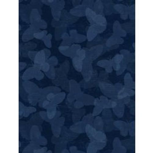 Floral Serenade Blue