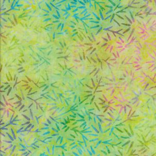 Tilamook-486 Lime Green Batik