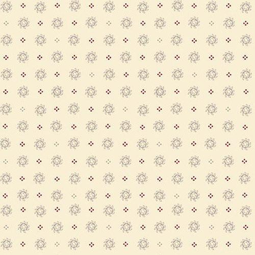 9417-40 Cream Laurel Wreaths Neutral