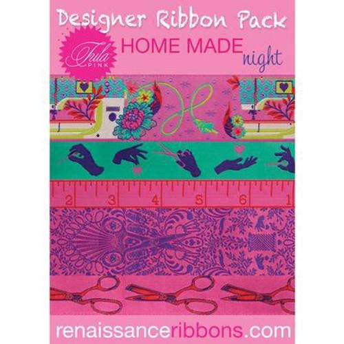 Tula Pink Ribbon Pack - Homemade Night