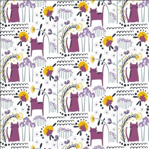 Glory - Elsies Cat - Dusk Fabric MC201-DU3