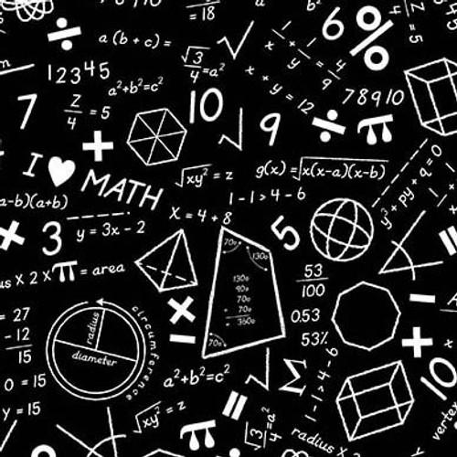 Math - Black