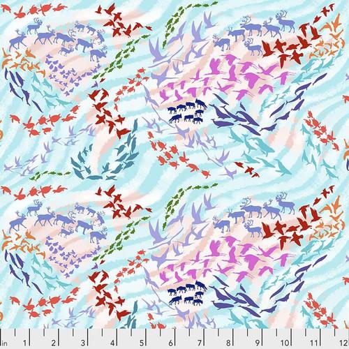 Migratory Map - Aqua