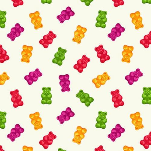 Gummy Bears 1025-01 Ecru
