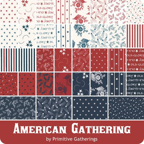 """American Gatherings 2 1/2"""" Jelly Roll"""
