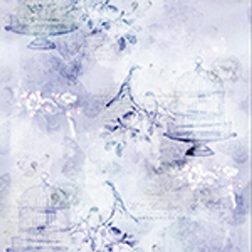 Birds in Cages - Lavender