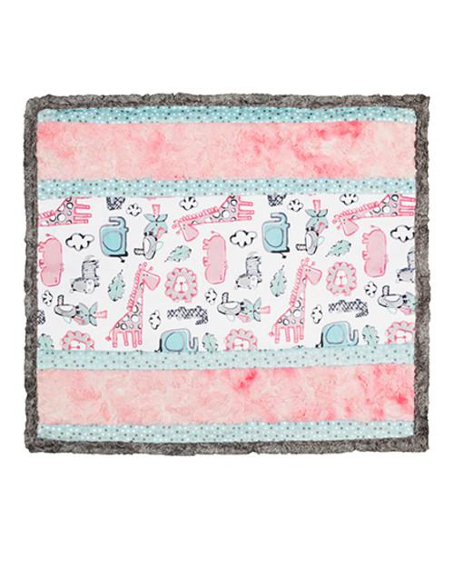 Cuddle Kit Wee Ones - Lion Around Pink