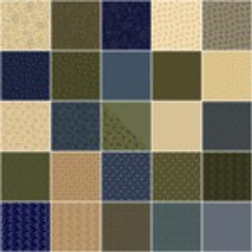 Country Meadow 10 inch Squares