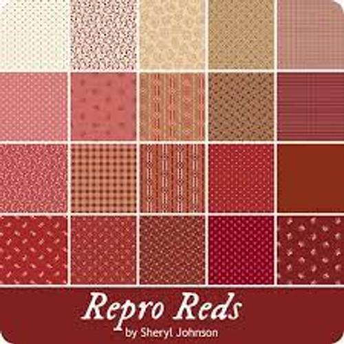 Repro Reds 2 1/2 inch strip rolls