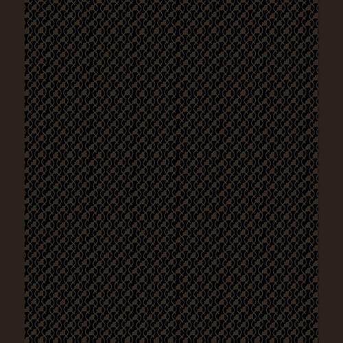 Sweetheart Geo Black on Black