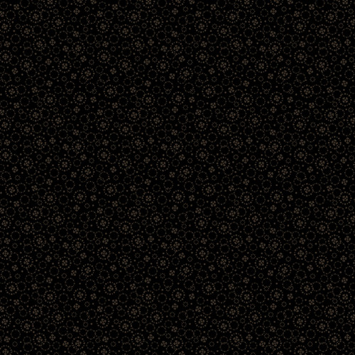 Circle & Dot Black on Black