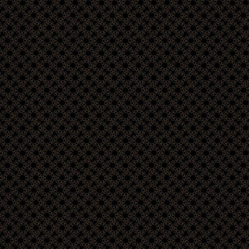 Ring of Circles Black on Black