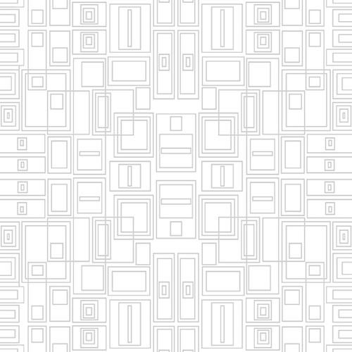 Circuit Board - Light Grey/White