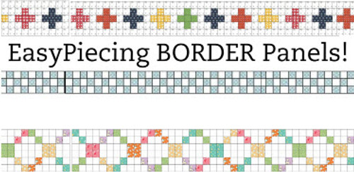 Tensisters 1 inch Border Panel by-the-panel