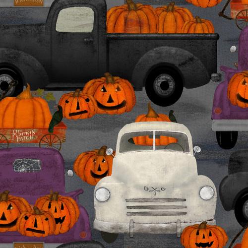 Spooky Night 18115-GRY Gray