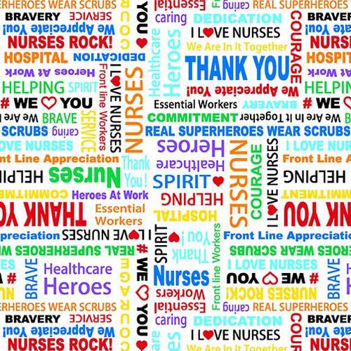 Nurse Appreciation - White