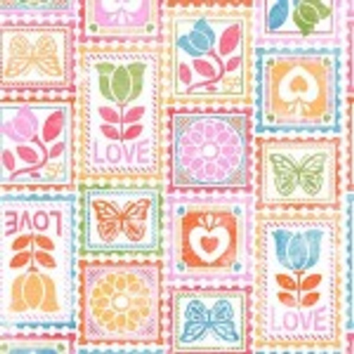 Love Stamps DC9647 Pink D