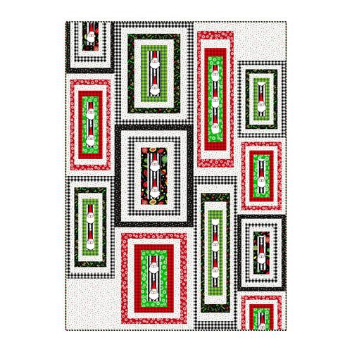 Christmas Magic Banded Step Pattern