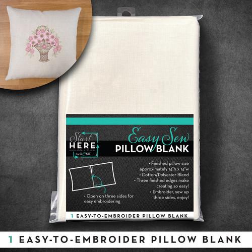 """Pillow Case Blank Linen 14""""x14"""""""