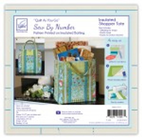 Quilt As You Go Insulated Shopper Tote