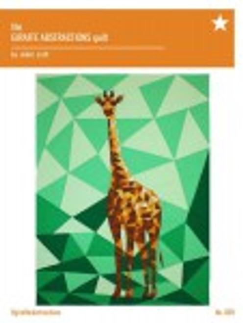 Giraffe Abstractions pattern Violet Craft