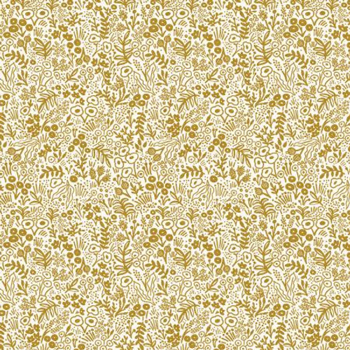 Rifle Paper Co. Basics - Tapestry Lace - Gold Metallic RP500-GO5M