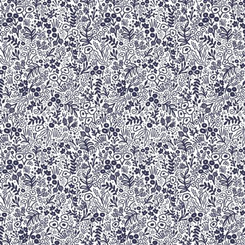 Rifle Paper Co. Basics - Tapestry Lace - Navy RP500-NA4