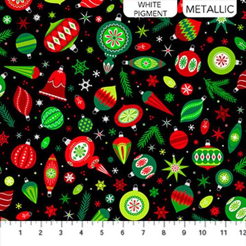 Christmas Magic Black 10025M-99