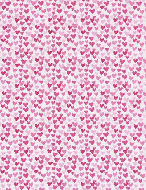 Fun-C3355 Pink - Hearts