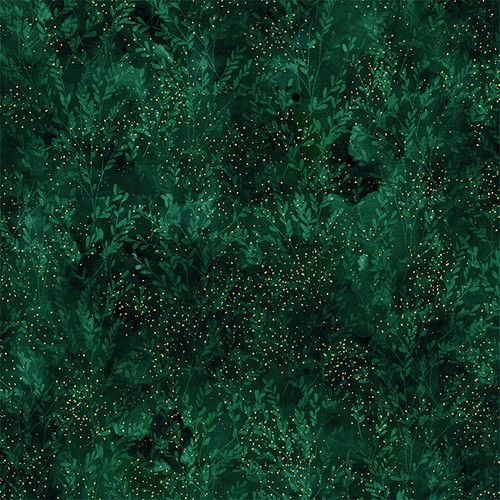 Autumn Is In The Air - Emerald/Gold T4856-31G