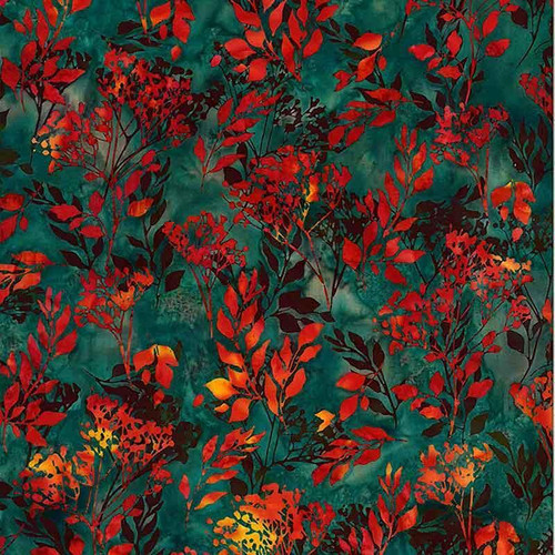 Bali Batik - Foliage Chamomile