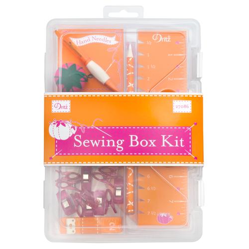 Sewing Box Kit Orange