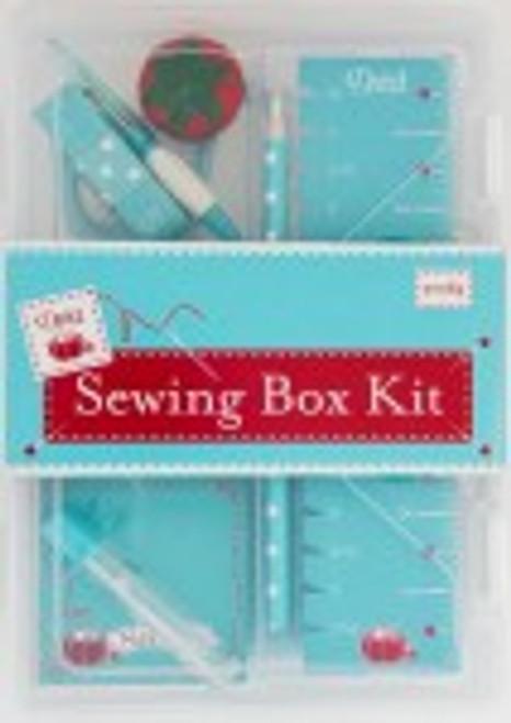 Sewing Box Kit Aqua