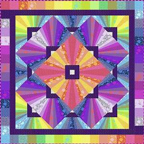 Tula Pink Solar Flare Quilt Kit