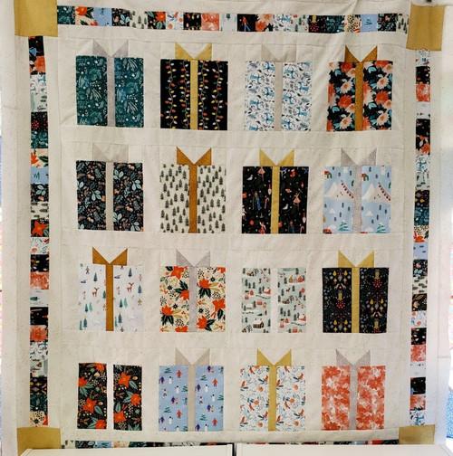 Christmas Present Quilt Kit