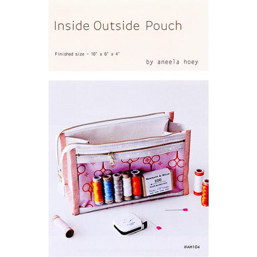 Inside out pouch pattern Aneela Hoey
