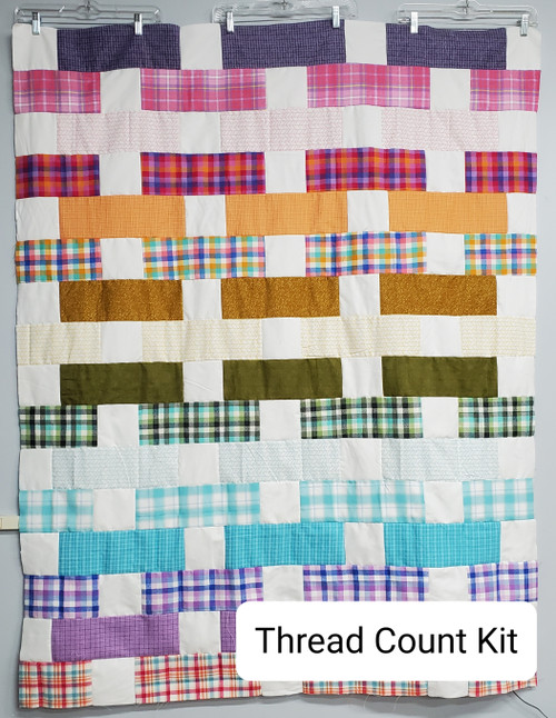 Thread Count Quilt Kit in Flannels