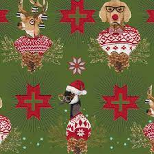 Tula Pink Holiday Homies Machine Embroidery Designs