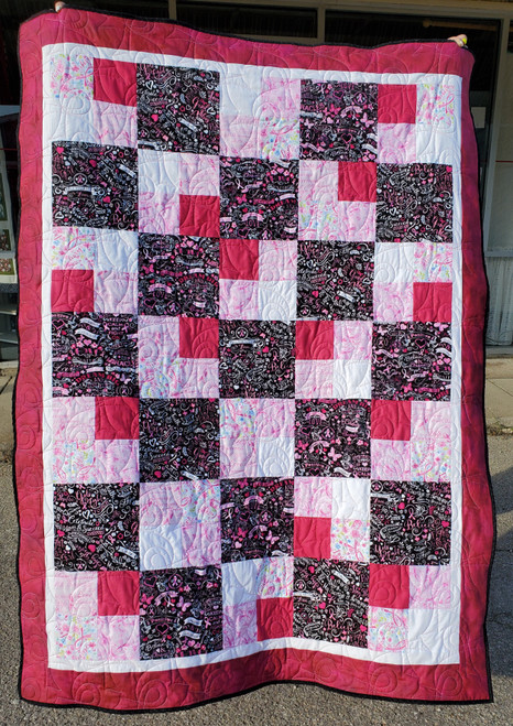 Breast Cancer Awareness Charity Quilt Kit