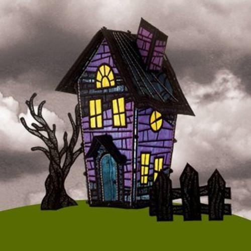 OESD Freestanding Haunted House 2