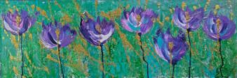 """""""Purple Tulips"""" By Shelley Preston"""